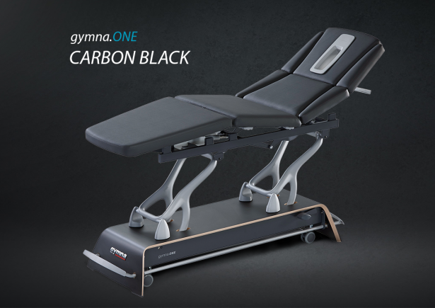 Carbon black exclusive physiotherapy table